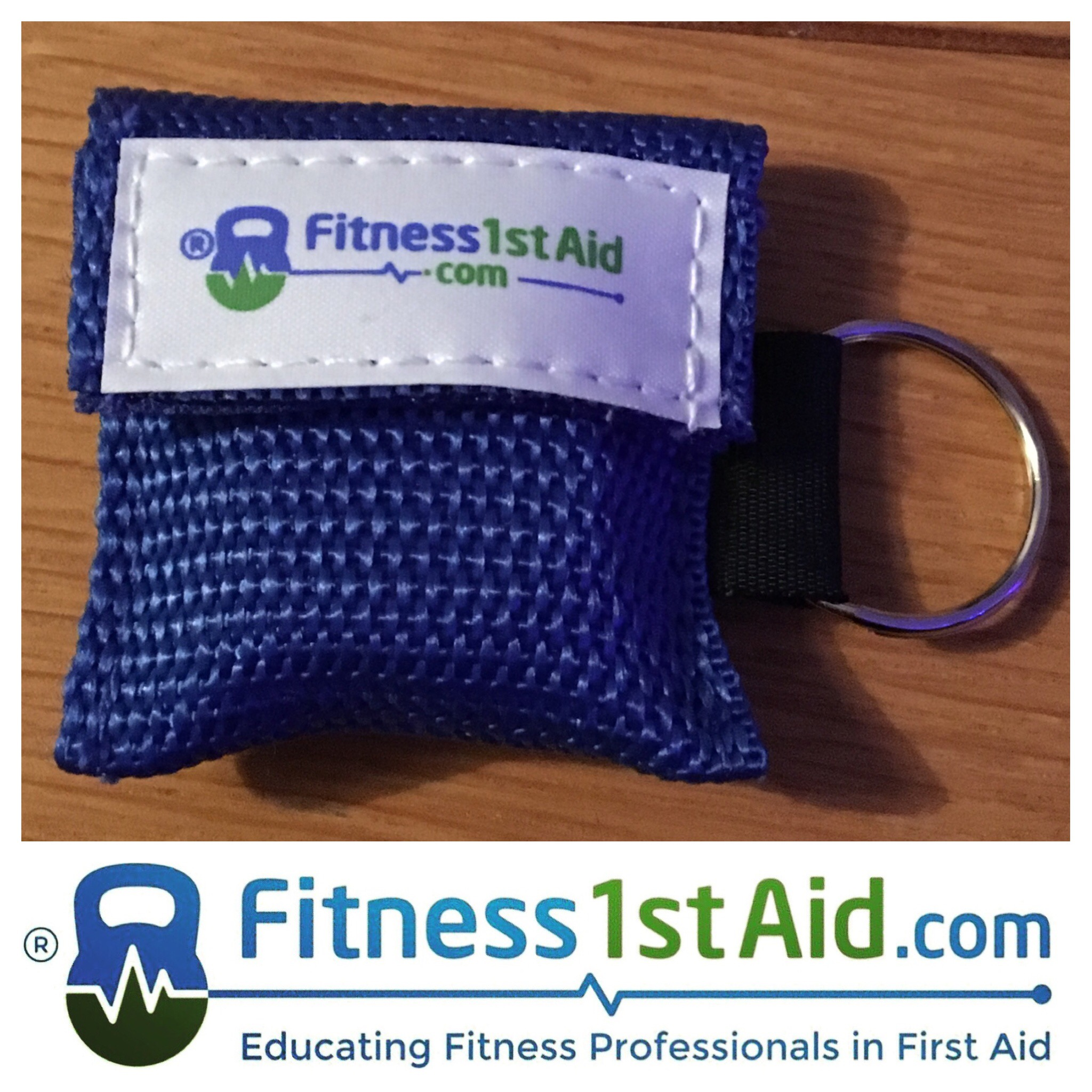 fitness1staid.com CPR Face Mask Shield with Keyring